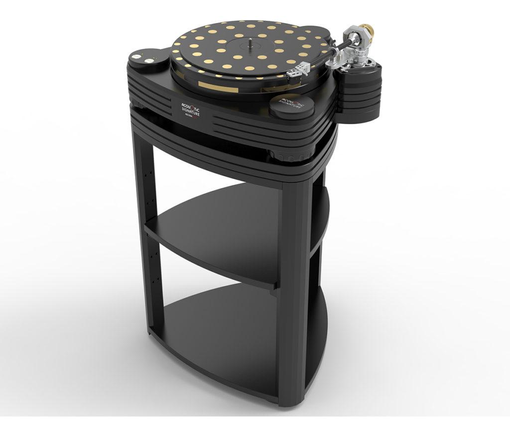 Ascona Neo Black on a rack